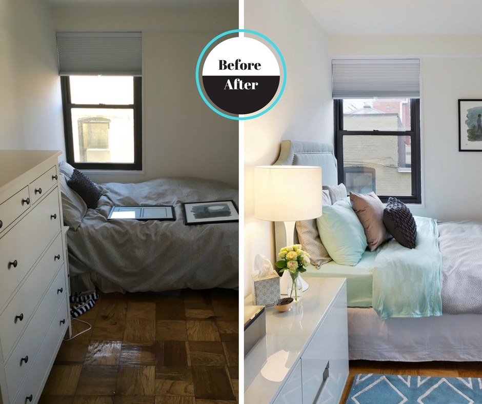 Before & After Sweet Little Bedroom
