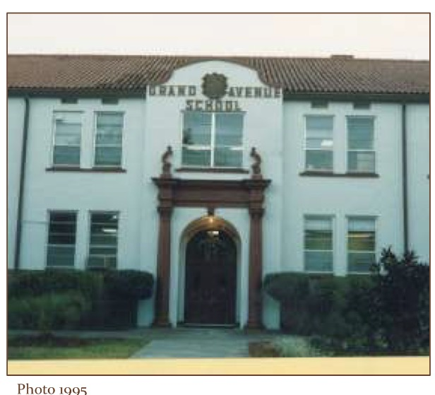 Grand Ave School photo from City of Orlando Historic Preservation Master Site File