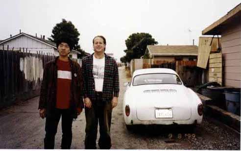 1999年 カリフォルニア州モンタレーにて