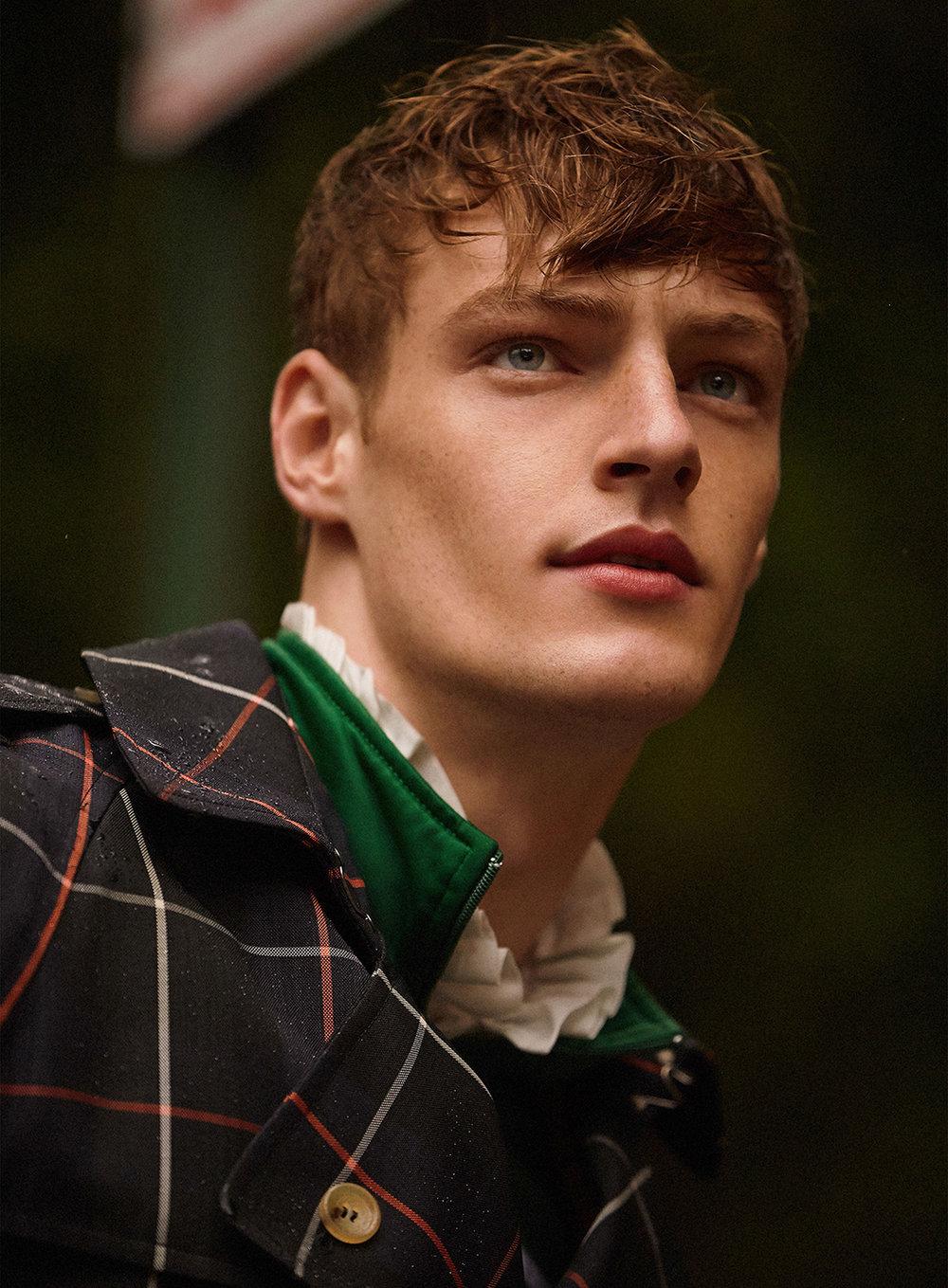 VIEW MORE - DILUVIO DE TARTAN | Styling Angelo DeSanto | Grooming Ty Shearn | Casting Bert Martirosyan | Model Roberto Sipos