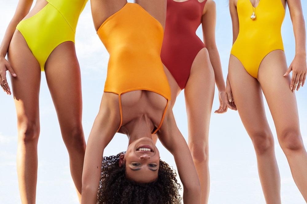 VIEW MORE - NEW YORK MAGAZINE: THE CUT | Styling Shiona Turini | Make Up Holly Gowers | Hair Gianluca Mandelli | Producer Biel Parklee | Models Clara McSweeney, Imena De Barros, Marizza Delgado, Pamela Ramos