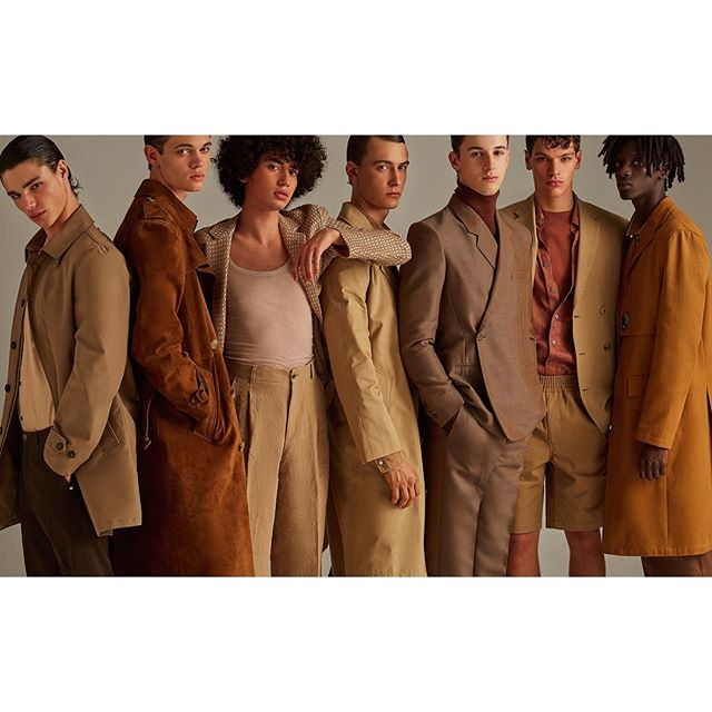 🥞🥨🍪Color! for @icon_elpais 🍪🥨🍩 Styling - @anamurillas  Makeup - @bo_champagne  Hair - @eliaspedrosa  Casting - @michelebisceglia_  Post - @franciscovargas  Production - @adrianasuarezproducer  #brown#malemodels#editorial#fashion#khaki#tailoring
