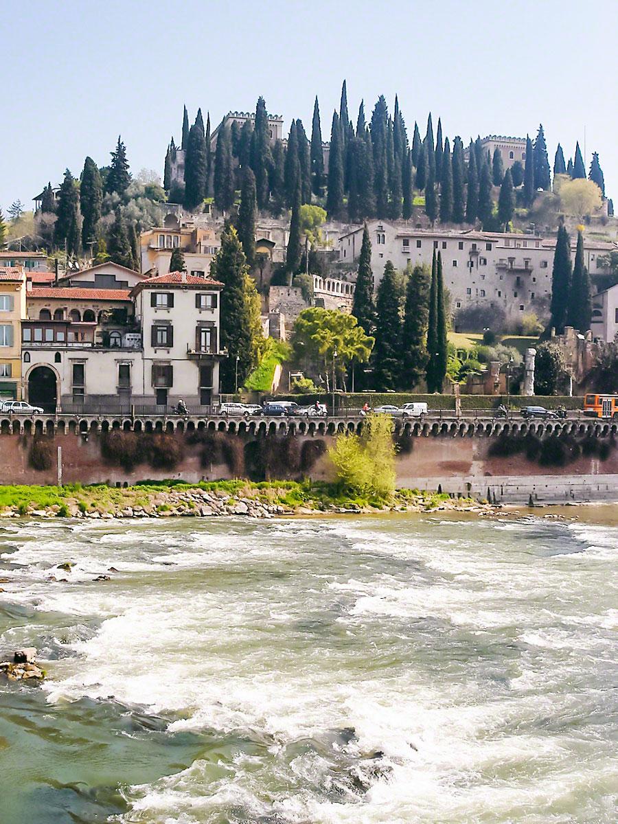 River Adige - Verona, Italy