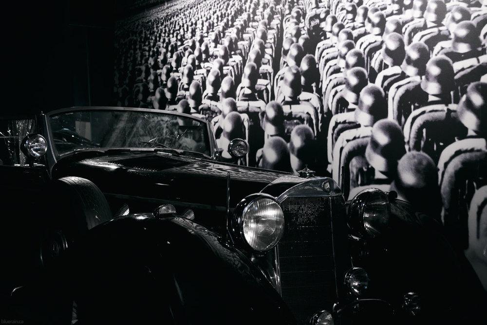 Hitler's Mercedes limousine