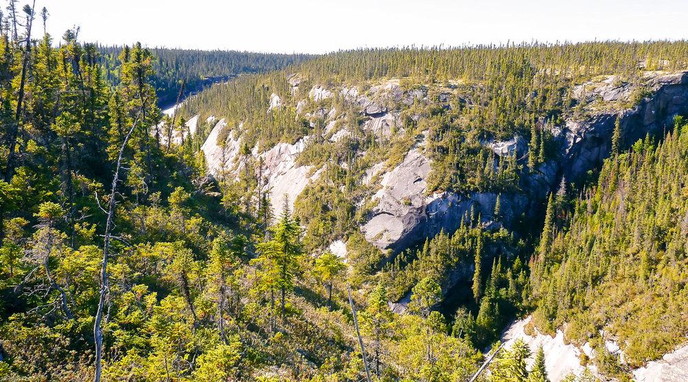 chruchill-falls-labrador-canada-landscape