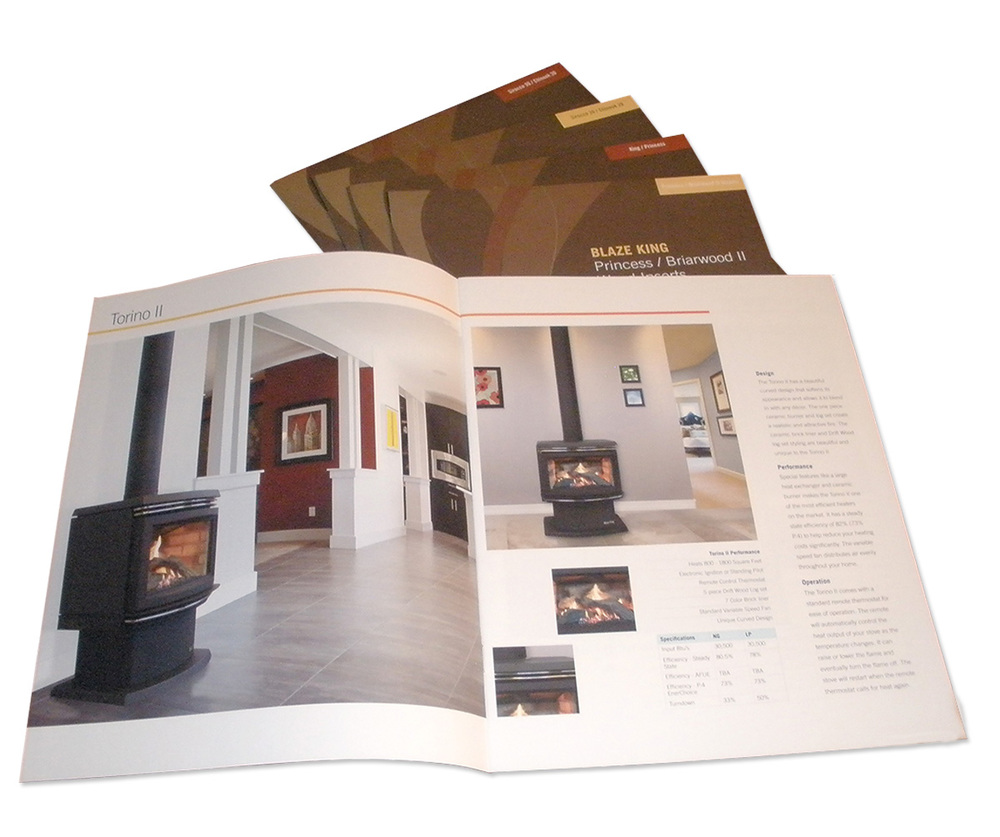 Gas Stove Brochure