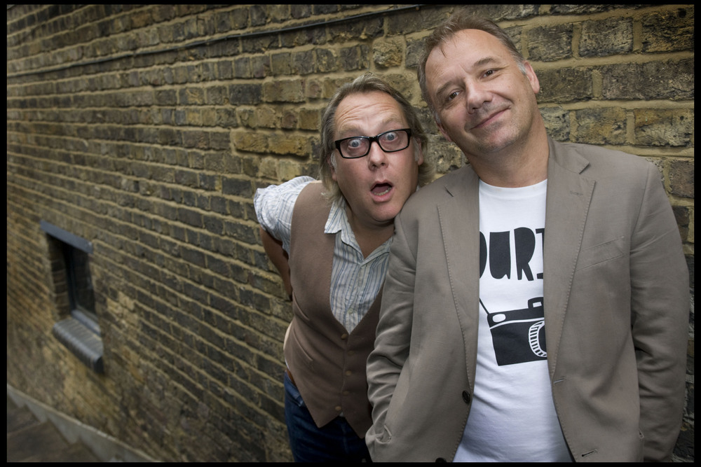Vic Reeves and Bob Mortimer, comedians