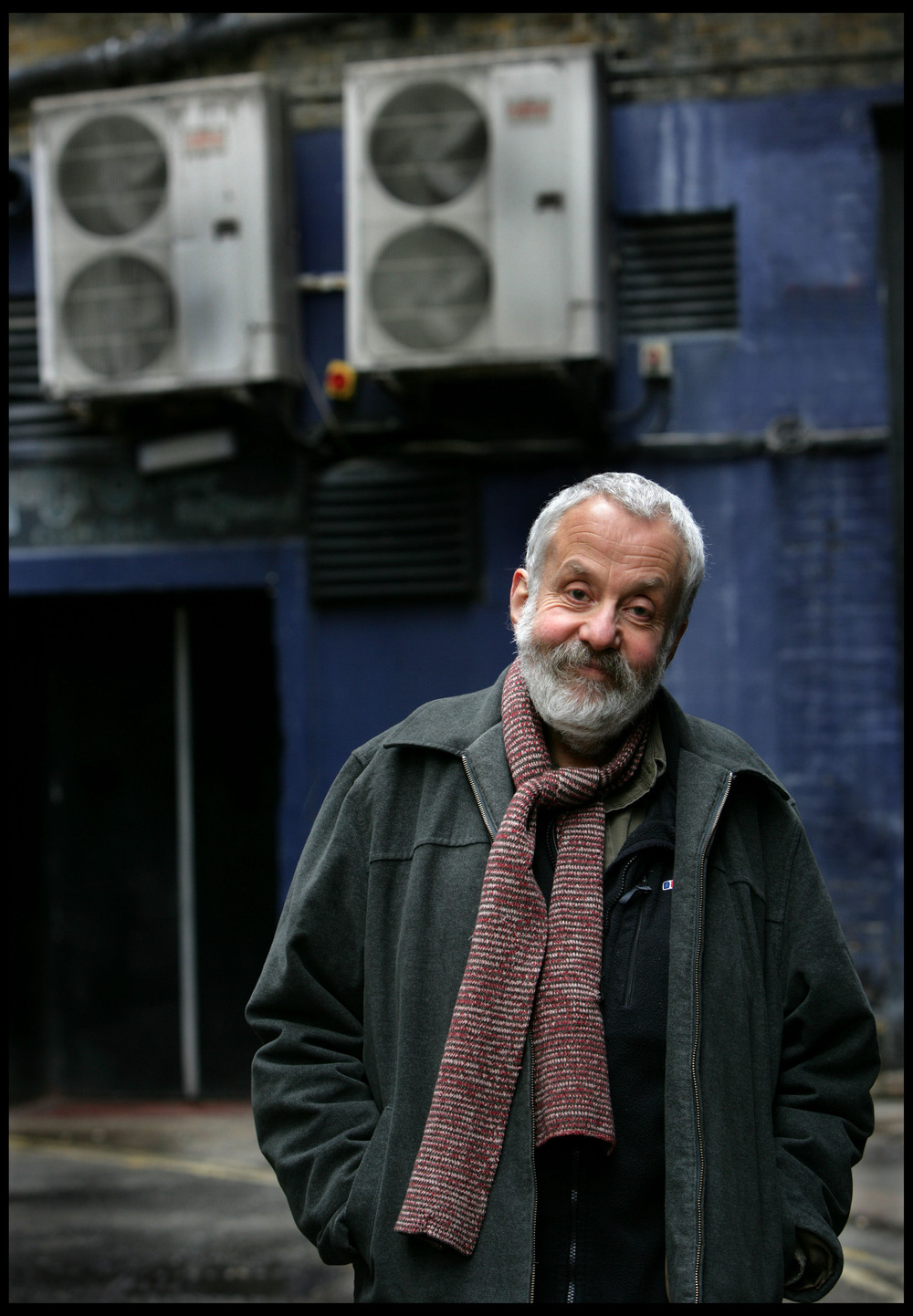 Mike Leigh, film director