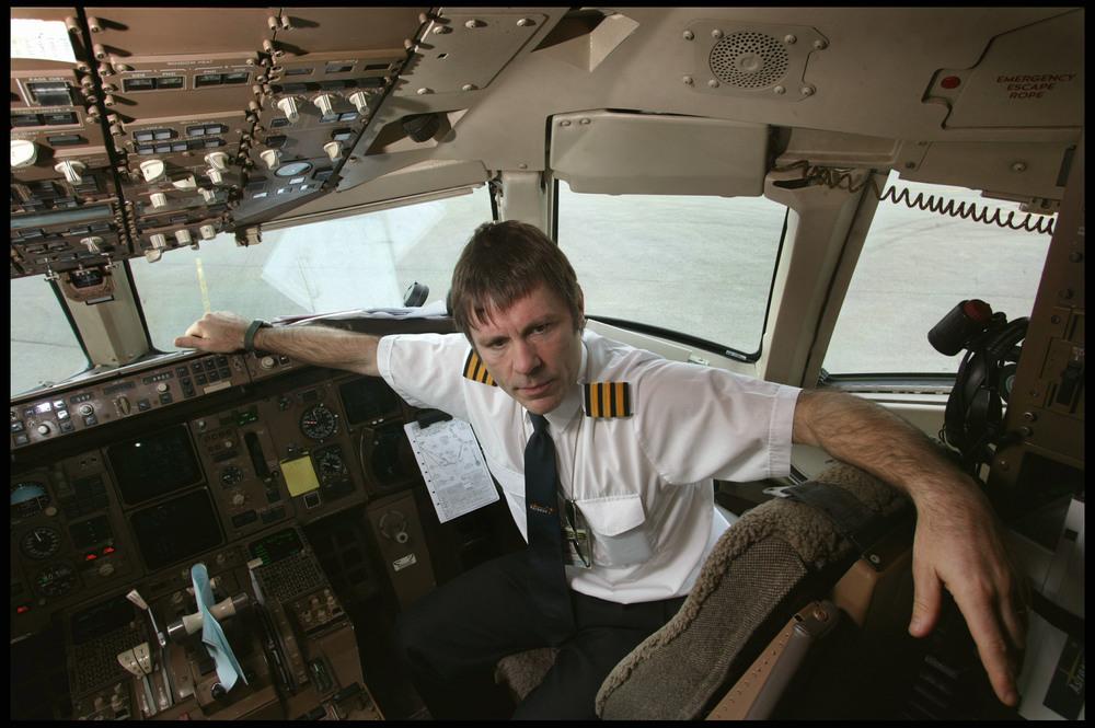 Bruce Dickinson, singer, pilot