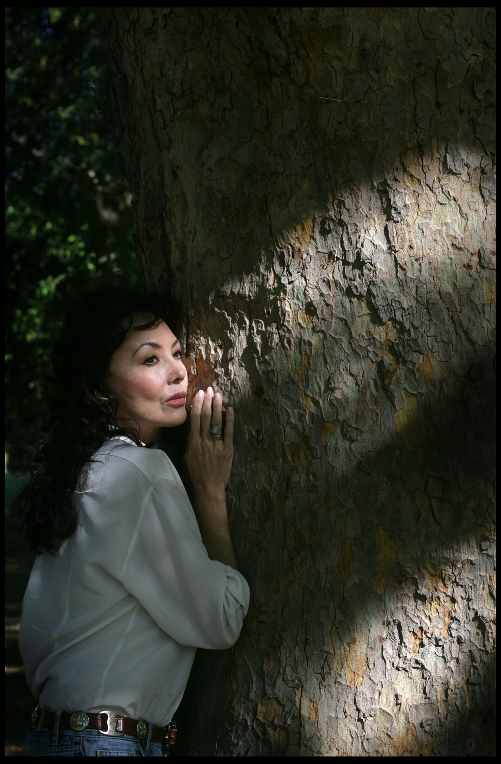 Marie Helvin, model