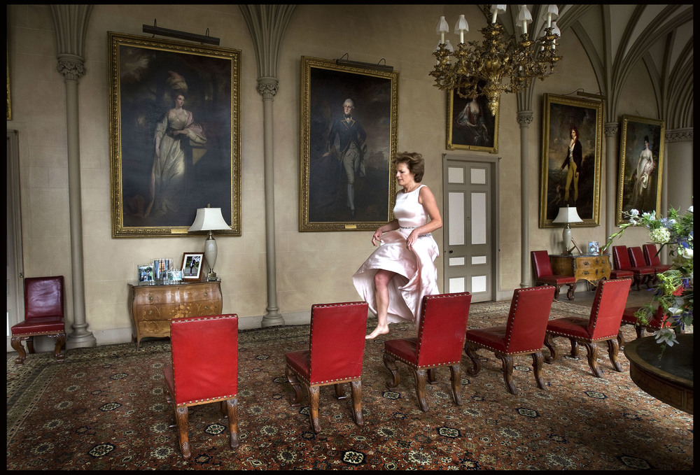 The Duchess of Rutland, Belvoir Castle, Leicestershire