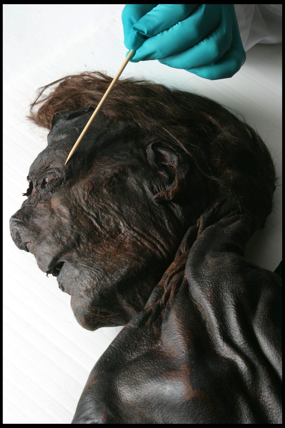 Clonycavan man, found in a bog in Co. Meath believed to date from 392-201 BC