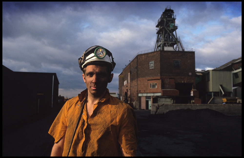 The last shift at Silverhill Colliery, Nottinghamshire