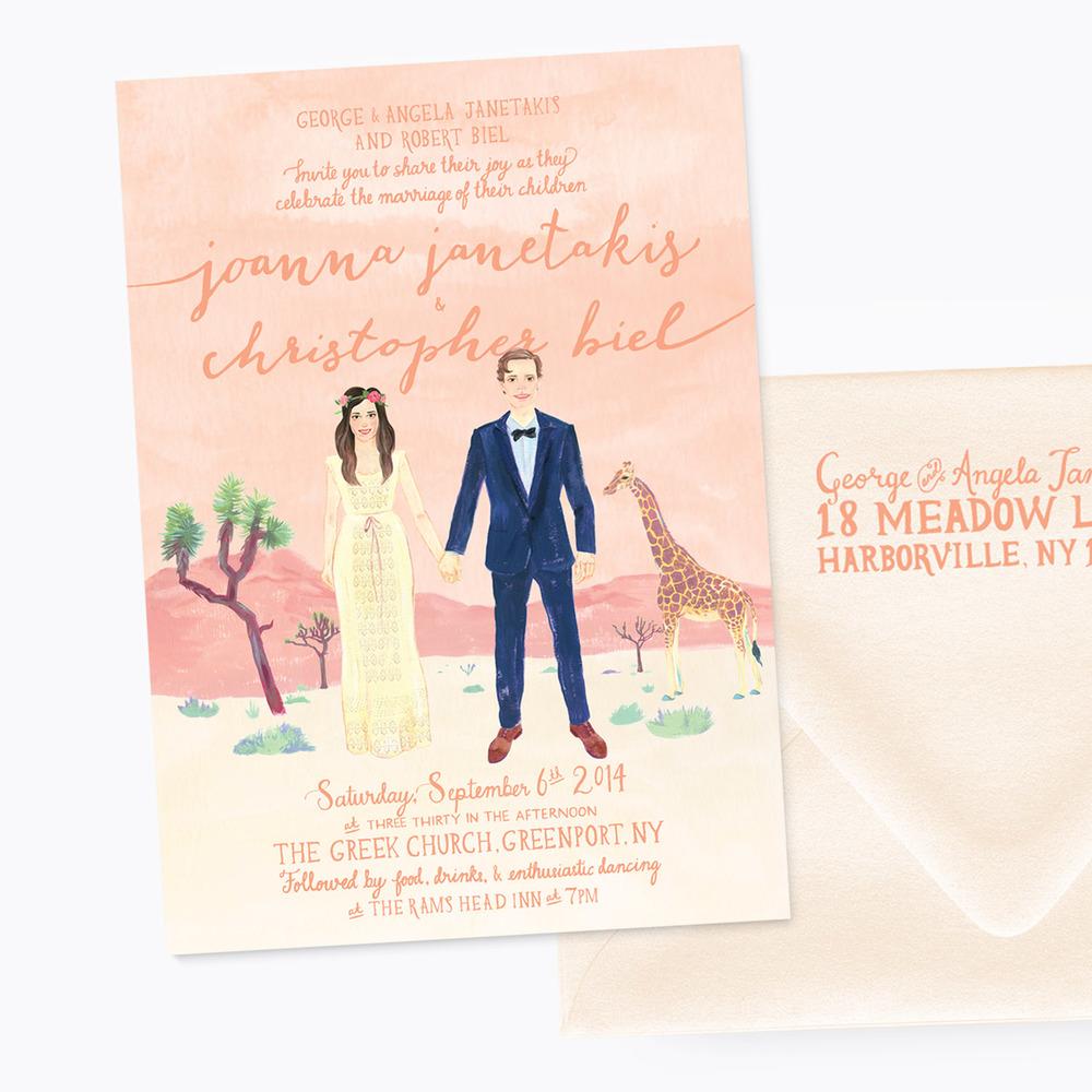 Joanna & Christopher's Invitation