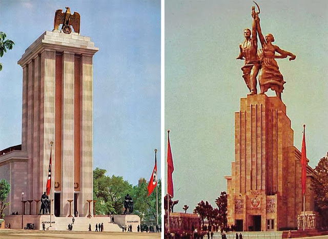 Paris 1937 exposition for Architecture totalitaire