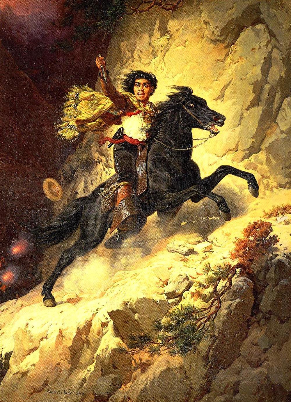 Joaquin Murieta, 1868
