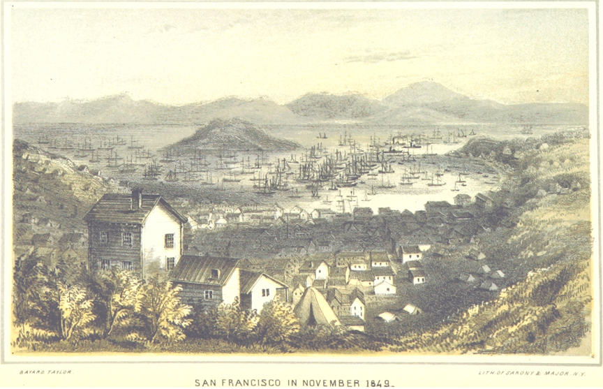 The Nahls arrived in San Francisco on May 23, 1851