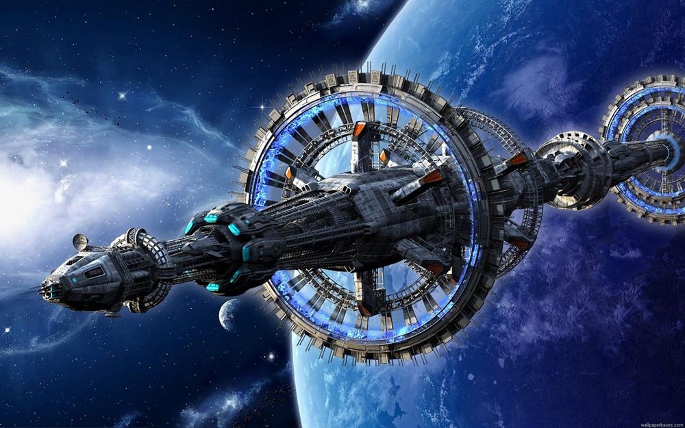 Nebula Space Station (artist unknown)