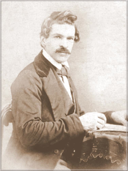 Photograph of Charles Christian Nahl (1818-1878) taken around 1865