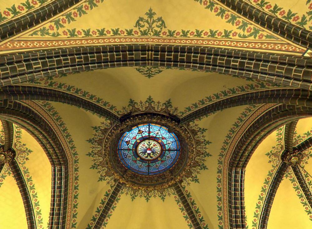 Lübeck interior ceiling