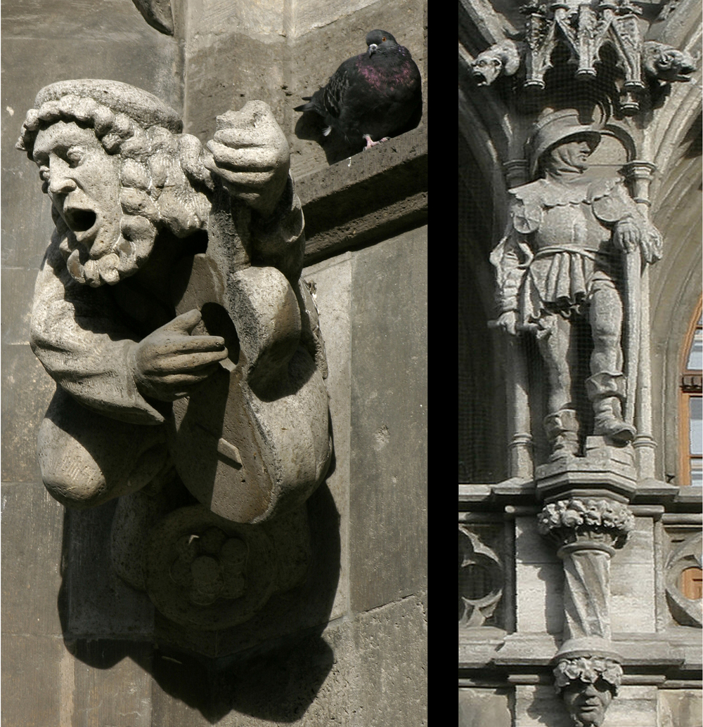 Facade sculptures
