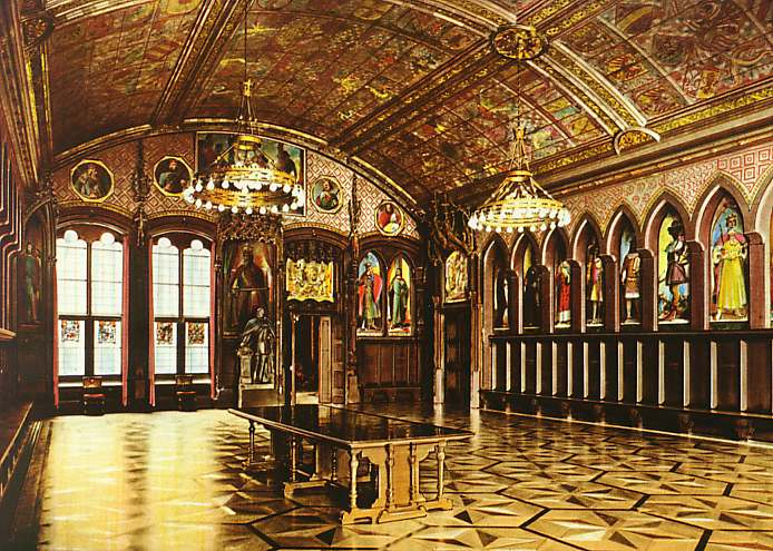 The Kaisersaal (Emperor's Room) before World War II