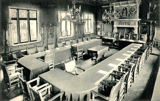 The Lübeck City Hall War Room