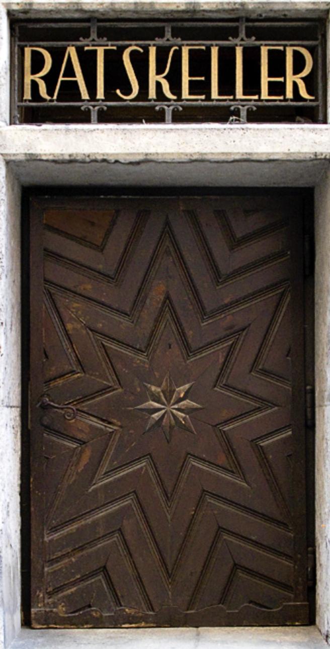 Augsburg Ratskeller Door