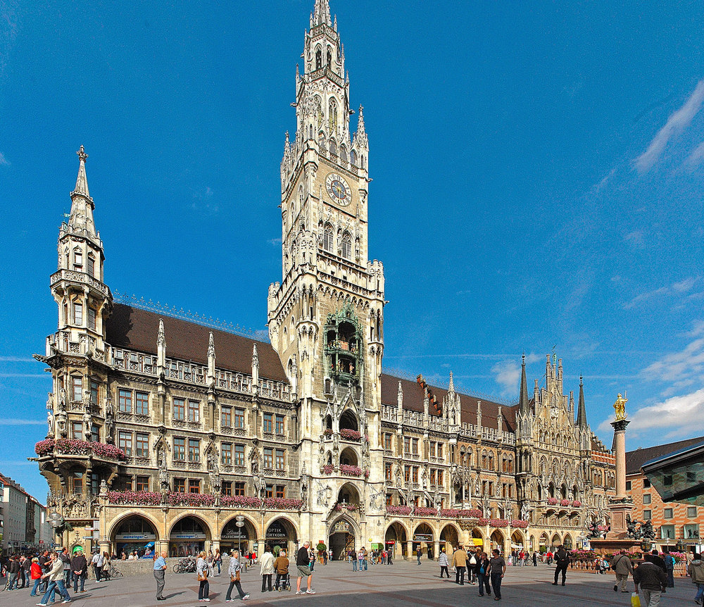 The New Munich City Hall