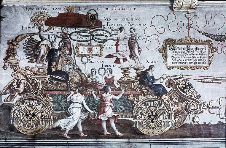 Detail of the Triumphal Wagon