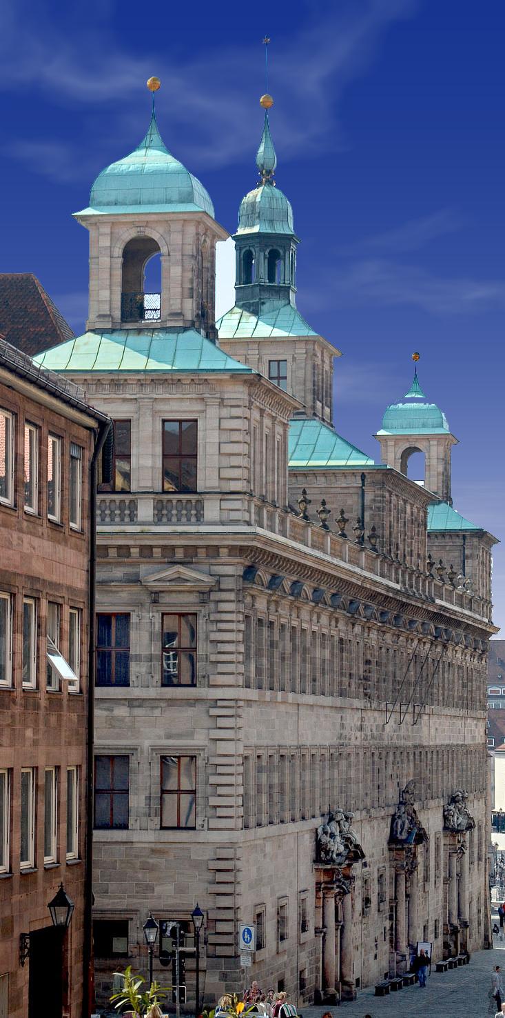 West Exterior Facade
