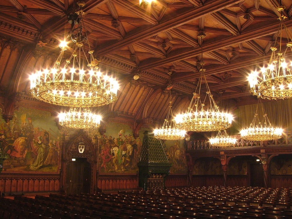 Landshut City Hall Concert Room