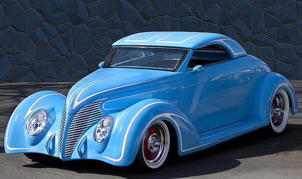 Radically Mild: a 1939 Ford at the Pleasanton Good Guys Show