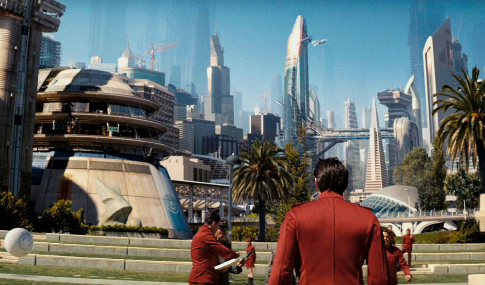 San Francisco in the 24th century, as imagined in   Star Trek   (2012)