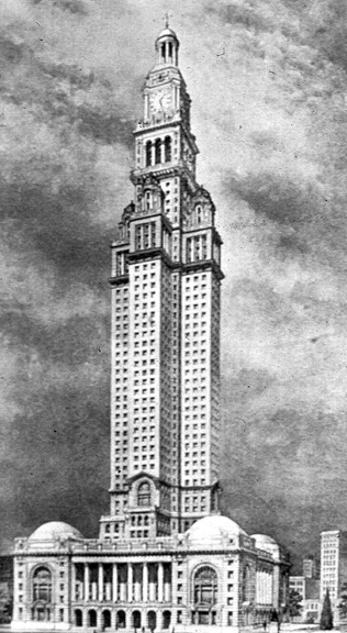 Competition Design, San Francisco City Hall, 1912.