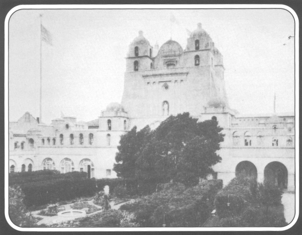 Students and faculty of the San Francisco State Teachers College hoped that the California Building at the 1915 Panama Pacific International Exposition would become their new home. After some debate, legislators decided that placing an all-girls school next to an army base would lead to immoral behavior.