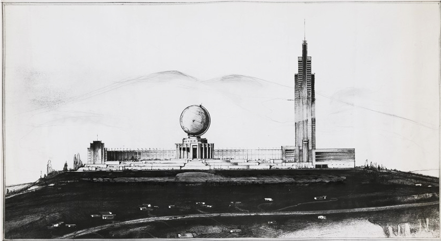 Vincent G. Raney, United Nations Headquarters in San Francisco (c. 1945)