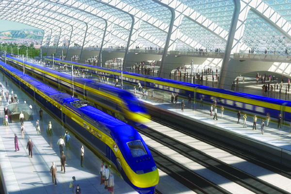 High Speed Rail Trains