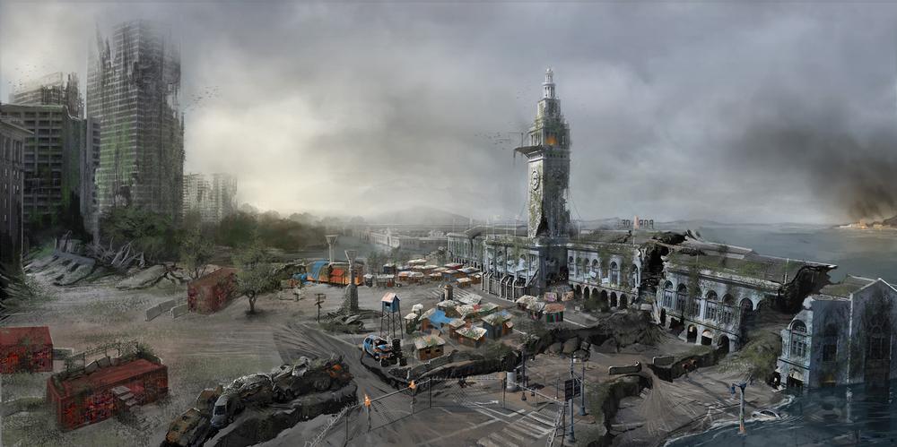 Dylau Palmer's vision of a San Francisco Apocalypse (2012)