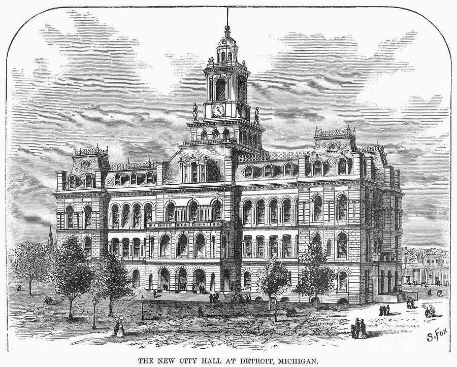 James Anderson, architect; plans completed in 1861, building finished in 1871