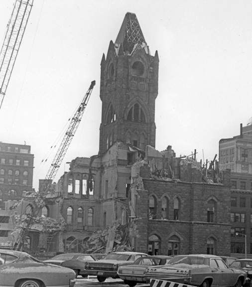 Demolition in 1969