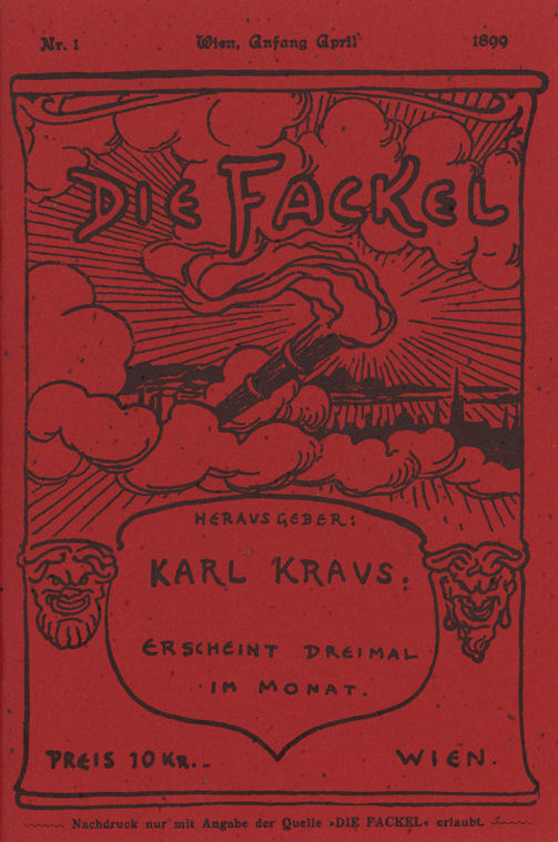 The Torch, published by Kraus from 1899-1936
