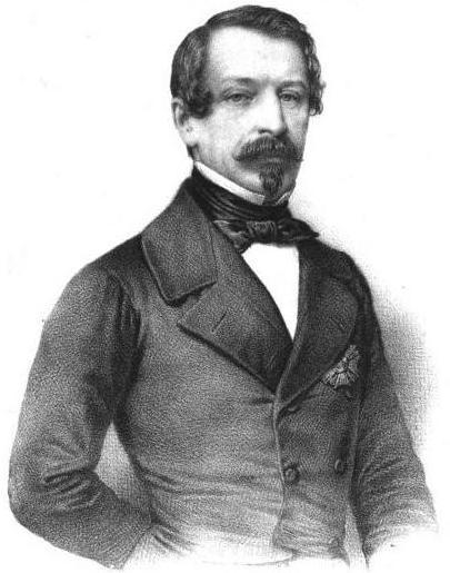 President Charles Louis Bonaparte, `848