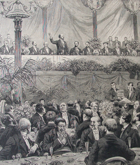 Banquet of Mayors, 1889