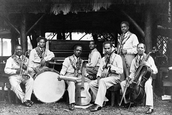 The Orchestre Stellion of Martinique at the Exposition