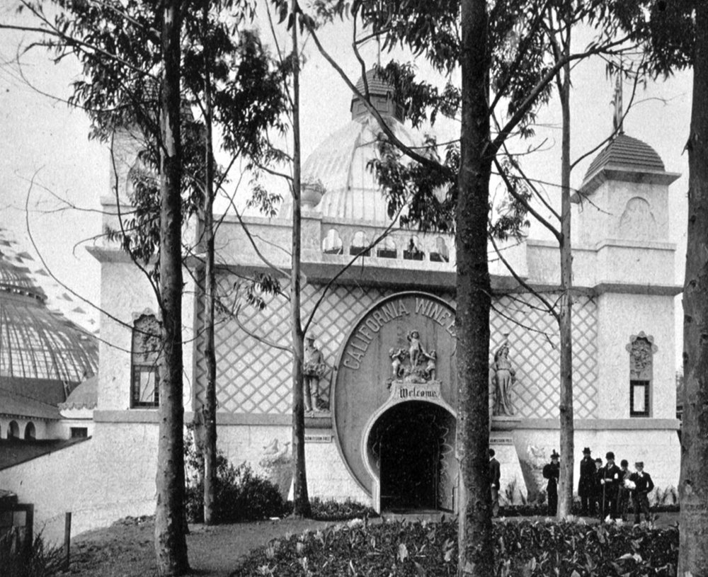 THE VITICULTURE BUILDING AT THE EXPOSITION