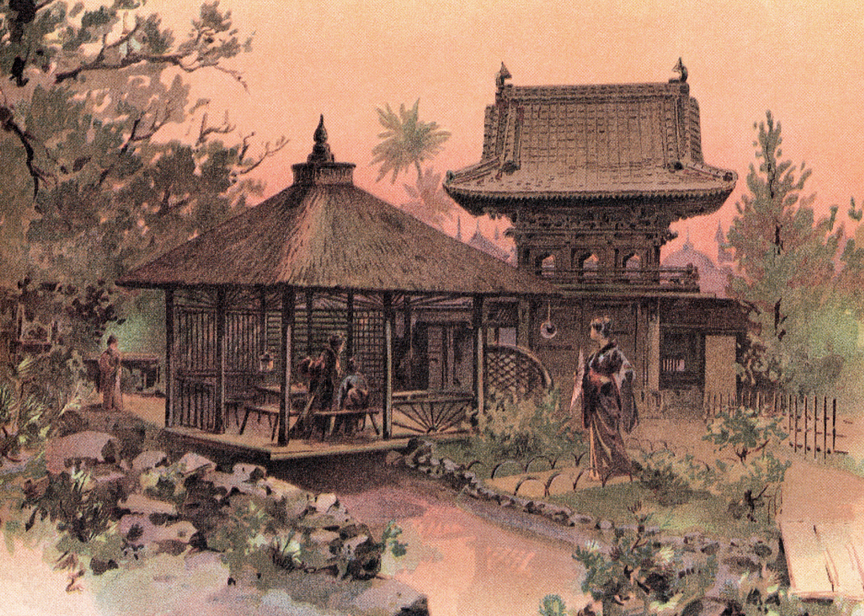 The Japanese Tea Garden at the exposition