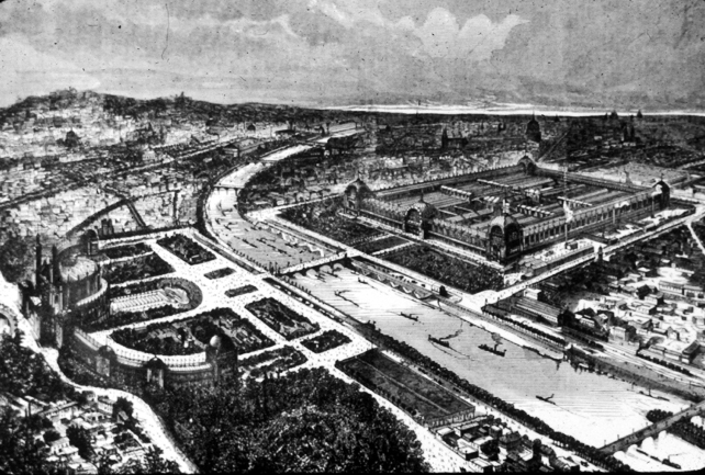 "The Paris Exposition of 1878, where Doré would first show his ""Poem of the vine"""