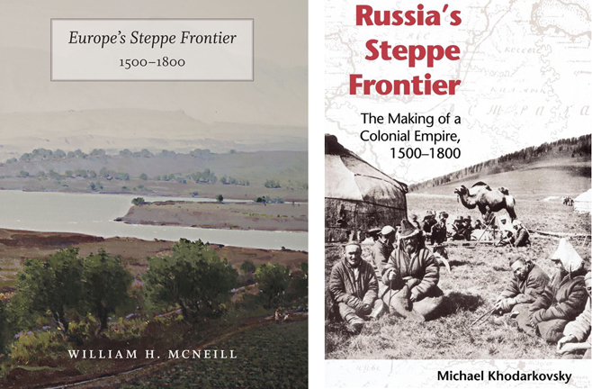 "Two recent works on the ""Steppe Frontier""  concept"