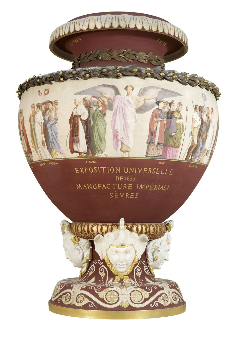 Sèvres Commemorative Vase, designed by Jean-Lèon Gérôme